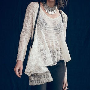 Free People Carousel up and down swing blouse S